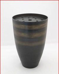 砂張流金文花瓶