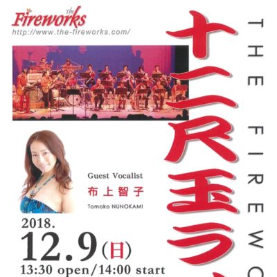 THE FIREWORKS 十二尺玉ライブ