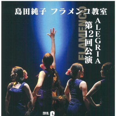 島田純子フラメンコ教室 AREGRIA 第12回公演