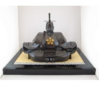 鋳銅菅公像