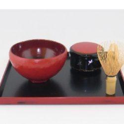 乾漆茶器 日の出(棗)